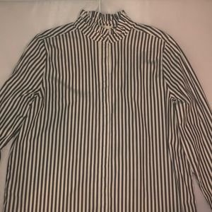 H&M women's striped button down